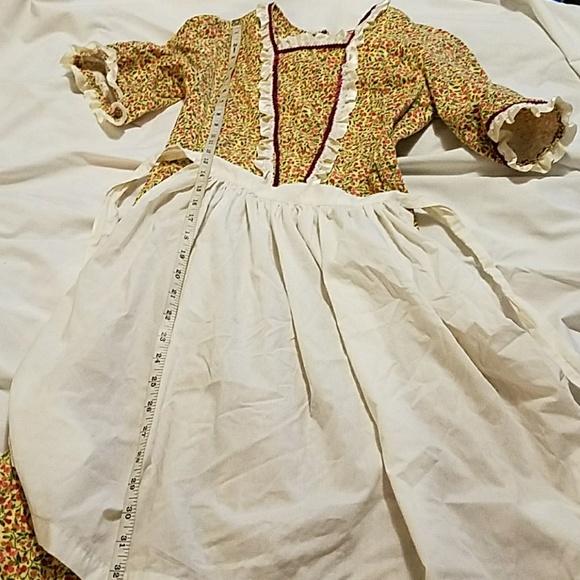 Costumes Girls Colonialpioneer Costume Poshmark
